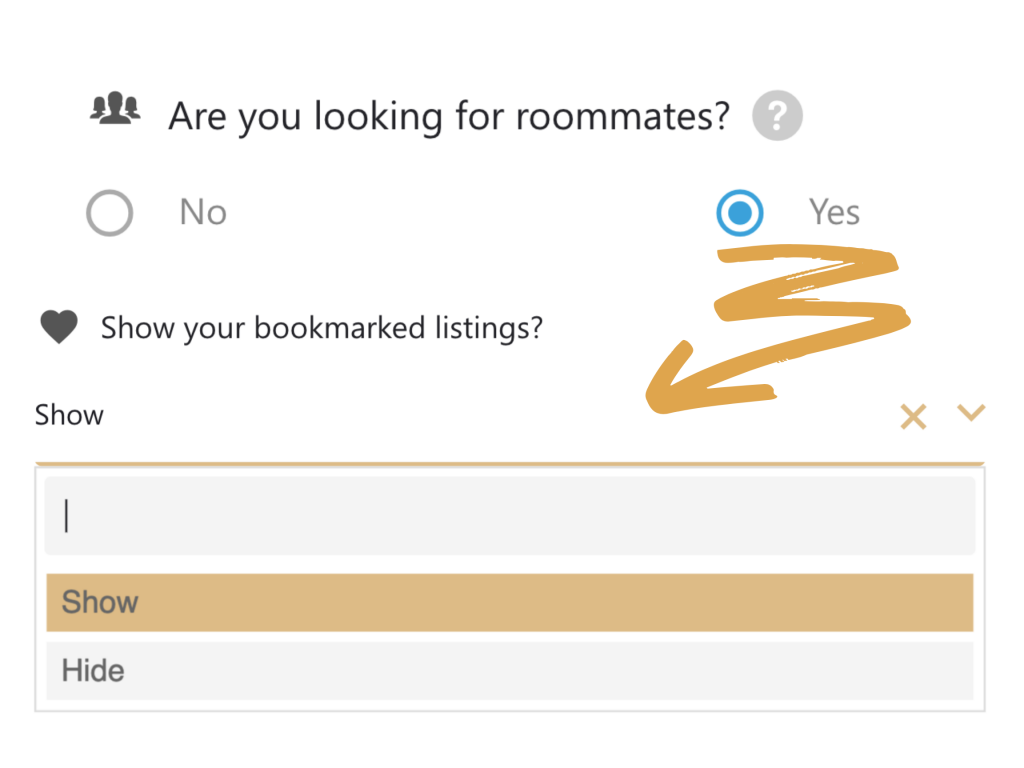Roommates and listing Pool